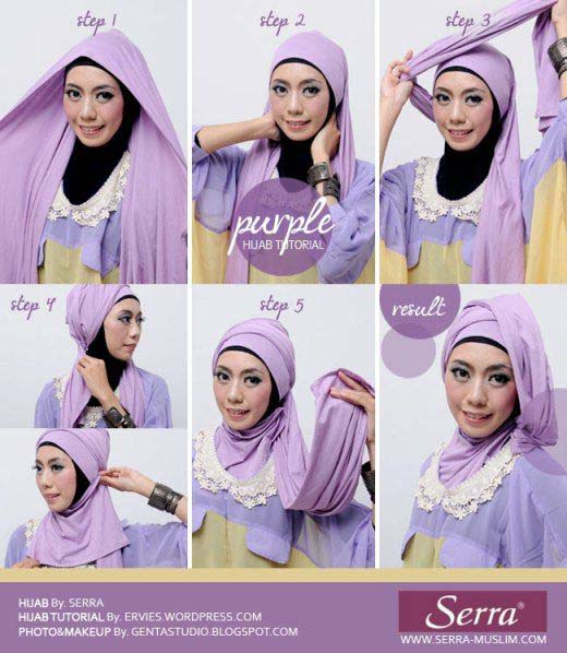 Tutoriels De Hijab Fashion 10