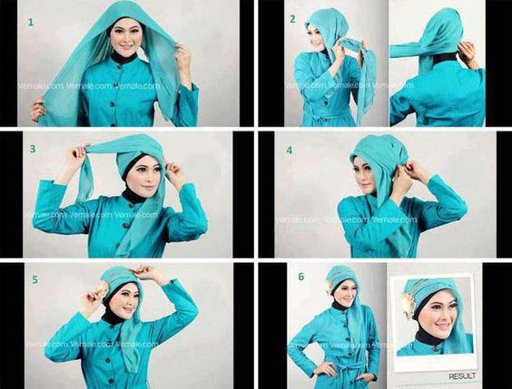 Tutoriels De Hijab Fashion 11