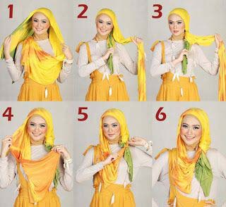 Tutoriels De Hijab Fashion 12
