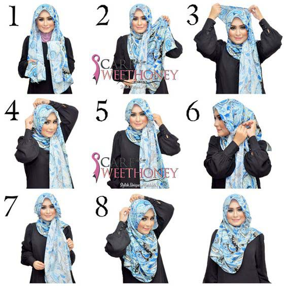 Tutoriels De Hijab Fashion 13