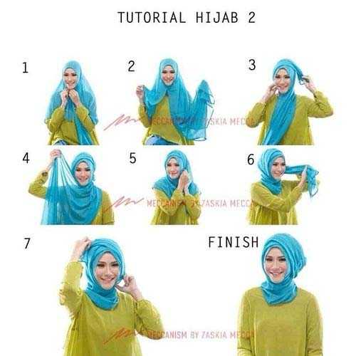 Tutoriels De Hijab Fashion 16