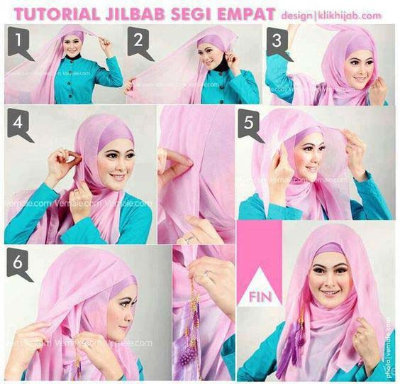 Tutoriels De Hijab Fashion 18