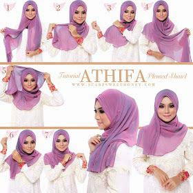Tutoriels De Hijab Fashion 19