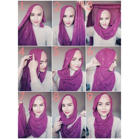 Tutoriels De Hijab Fashion 20