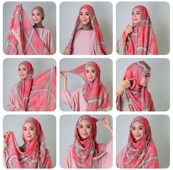 Tutoriels De Hijab Fashion 4