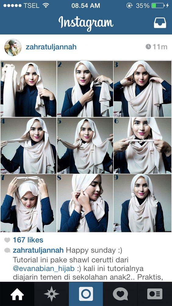 Tutoriels De Hijab Fashion 6
