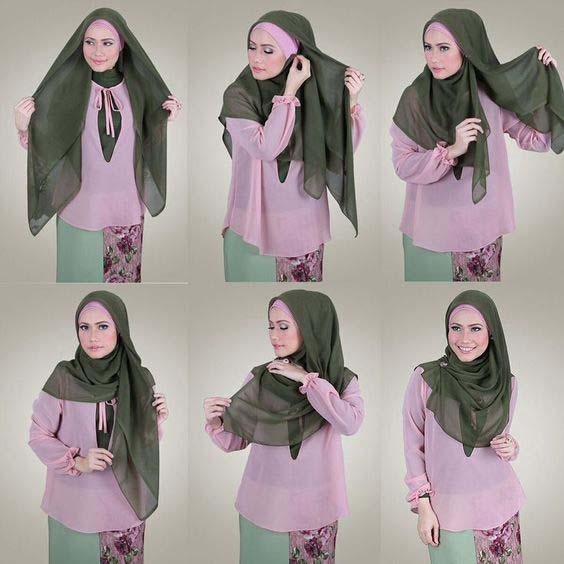 Tutoriels De Hijab Fashion 8
