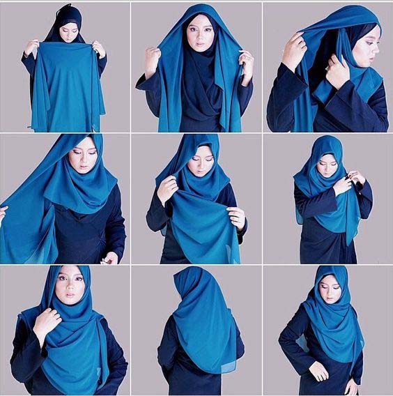 Tutoriels De Hijab Fashion 9