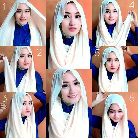 Tutoriels Faciles De Hijab Modernes