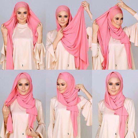 Tutoriels Faciles De Hijab Modernes1
