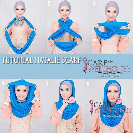 Tutoriels Faciles De Hijab Modernes12