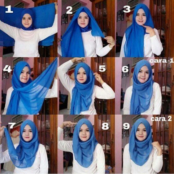 Tutoriels Faciles De Hijab Modernes17