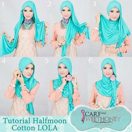 Tutoriels Faciles De Hijab Modernes18