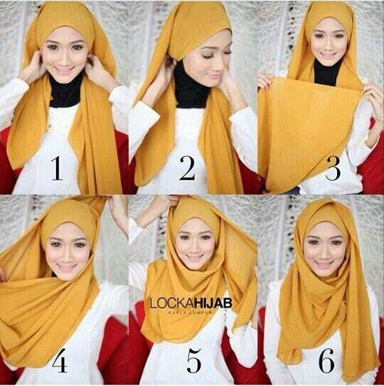 Tutoriels Faciles De Hijab Modernes2