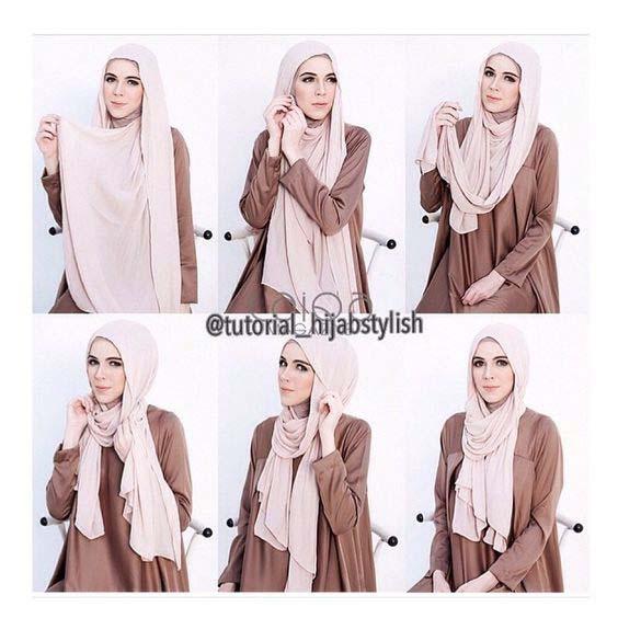 Tutoriels Faciles De Hijab Modernes20