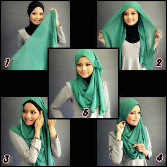 Tutoriels Faciles De Hijab Modernes22