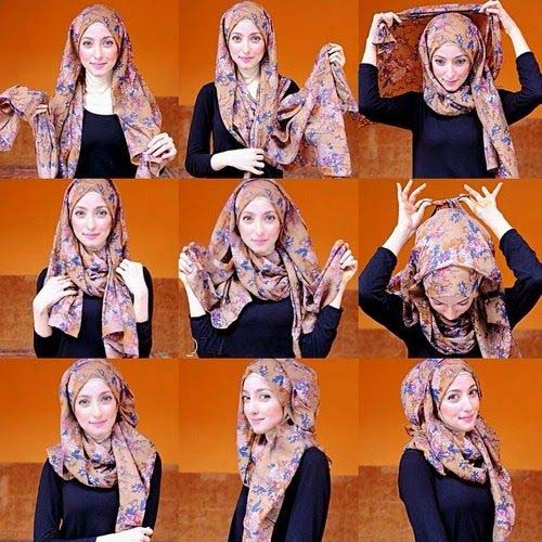 Tutoriels Faciles De Hijab Modernes3