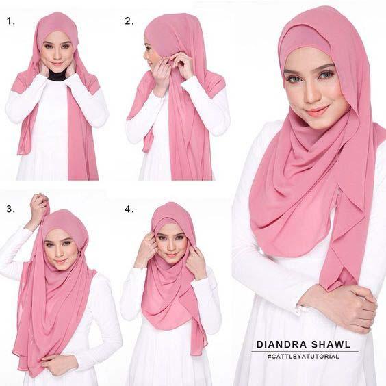 Tutoriels Faciles De Hijab Modernes4