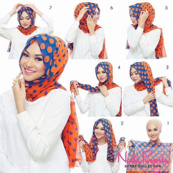 Tutoriels Faciles De Hijab Modernes9