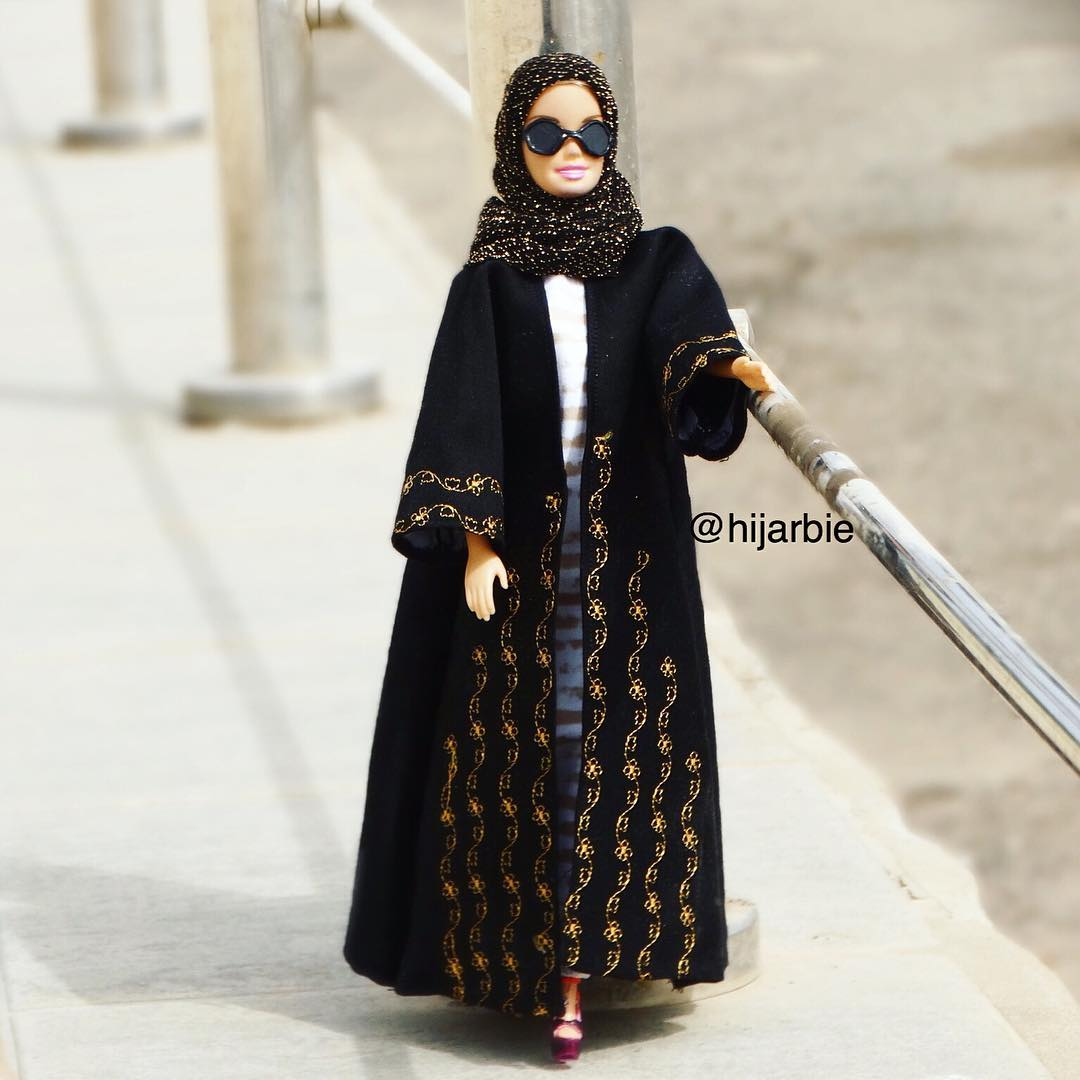 Une Barbie En Hijab
