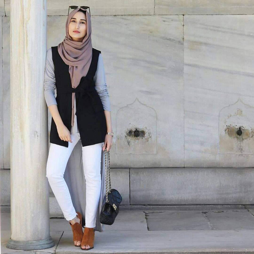 Une Tunique Longue avec un pantalon3