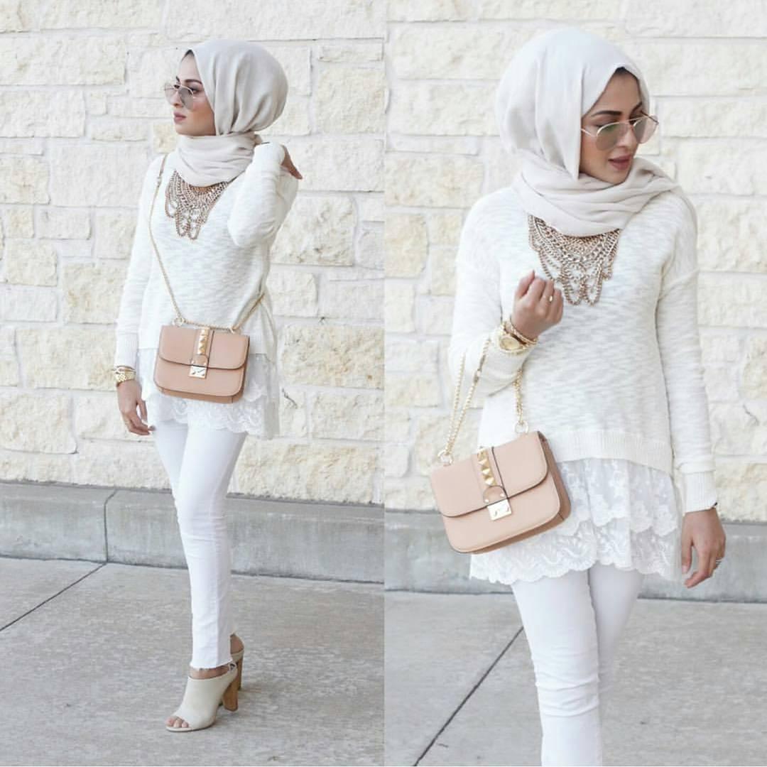 Une Tunique Longue avec un pantalon4
