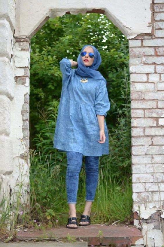 Casual Style Hijab25