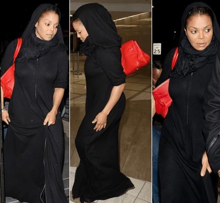 Janet Jackson S'est Convertie À L'Islam 4