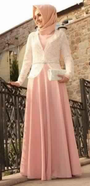 Jolie Robe De Soirée Pour Femme Voilée4
