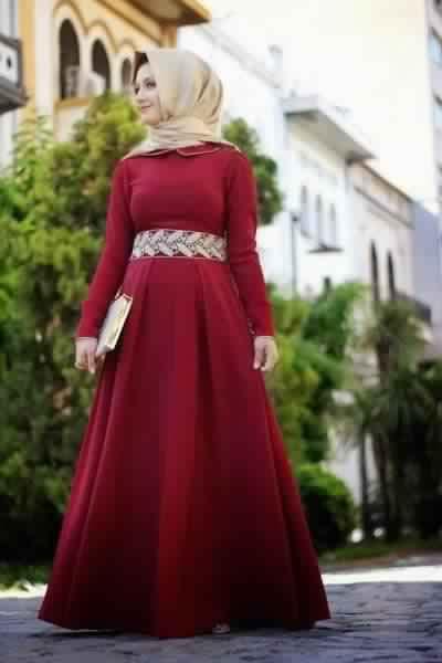 Jolie Robe De Soirée Pour Femme Voilée6