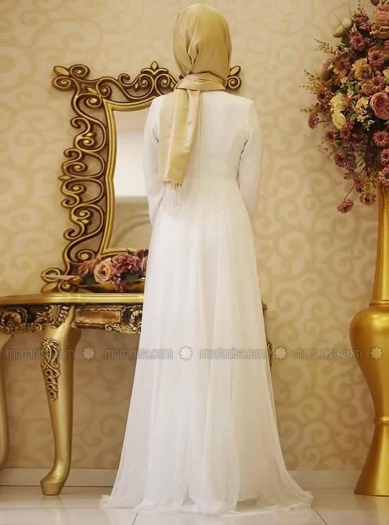 Robe De Soirée Pour Femme Voilée1