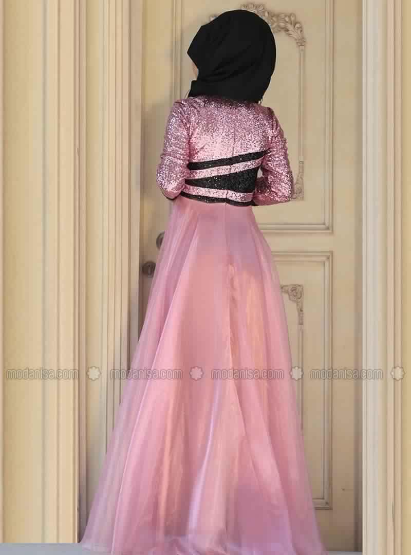 Robe de Soirée Femme Voilée 8
