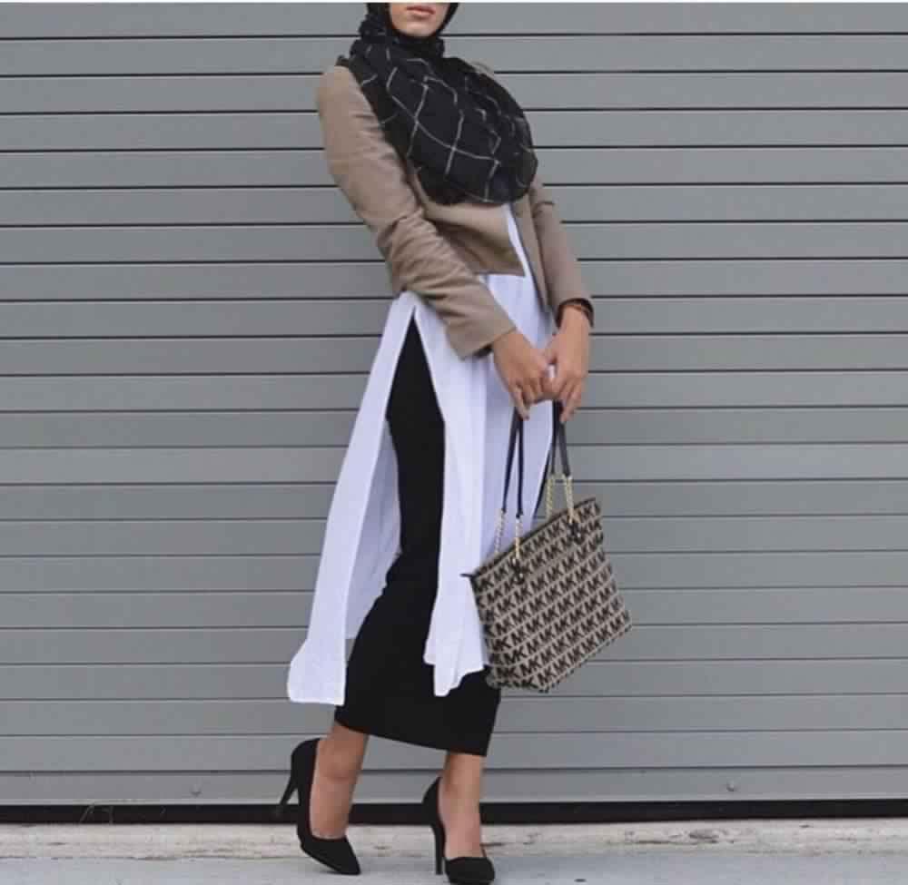 Tunique Longue Avec Un Jean