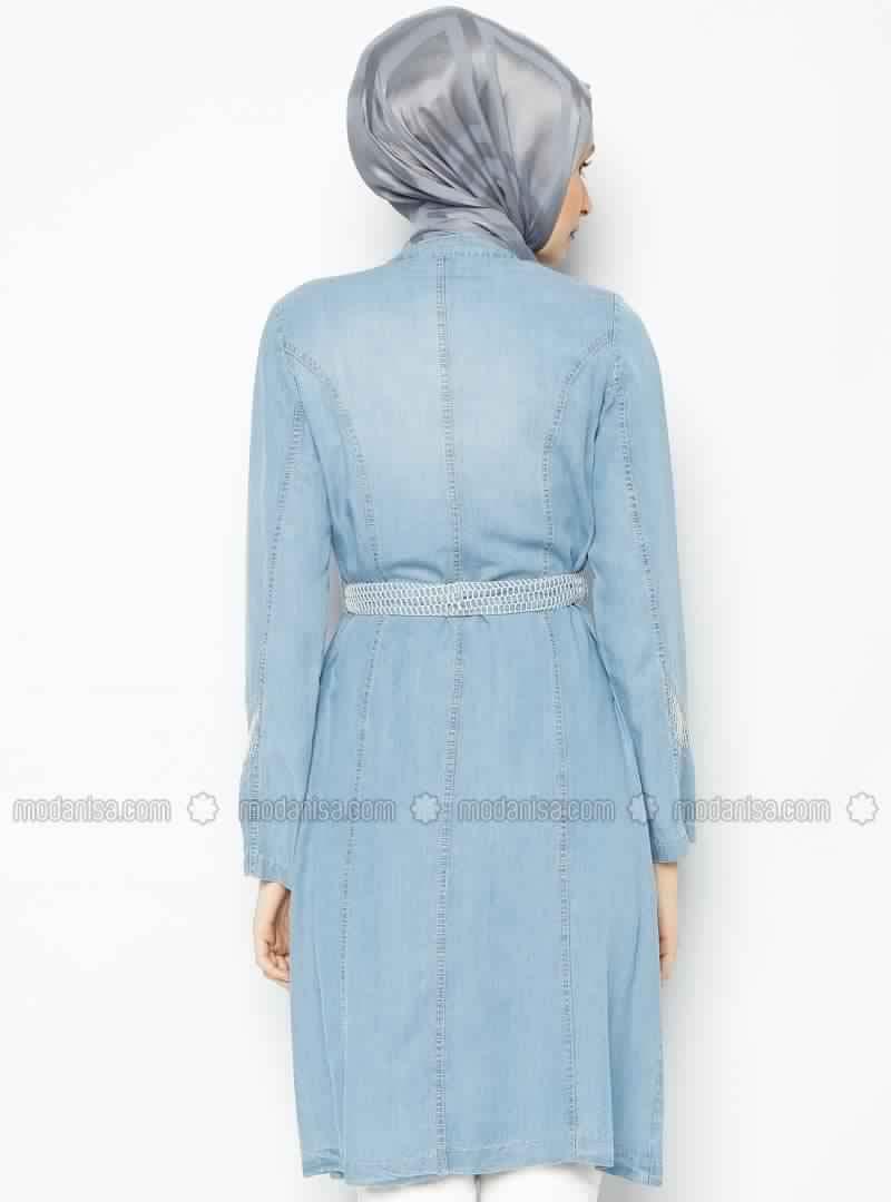tunique longue en jean la nouvelle tendance en t 2016 prix merveilleux astuces hijab. Black Bedroom Furniture Sets. Home Design Ideas