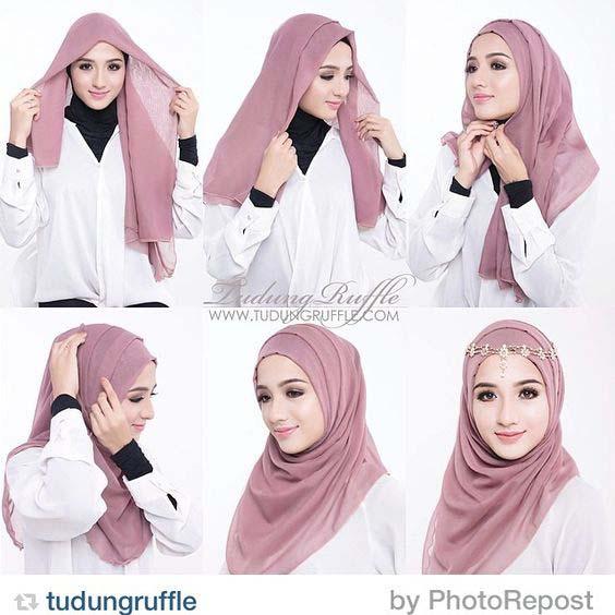 Tutoriels Hijab Simples Et Faciles