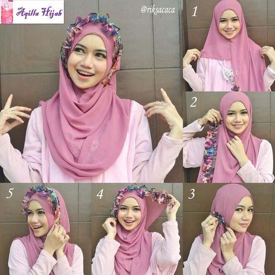Tutoriels Hijab Simples Et Faciles 7