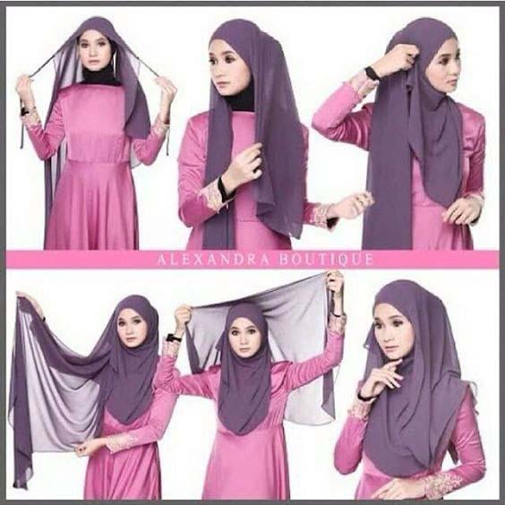 Tutoriels Hijab