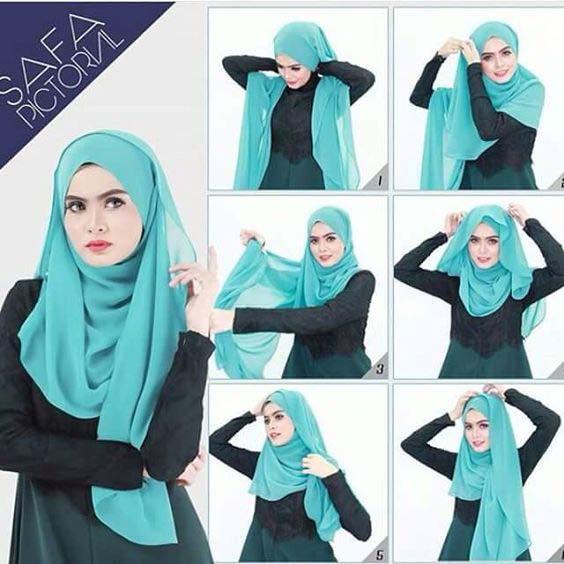Tutoriels Hijab10