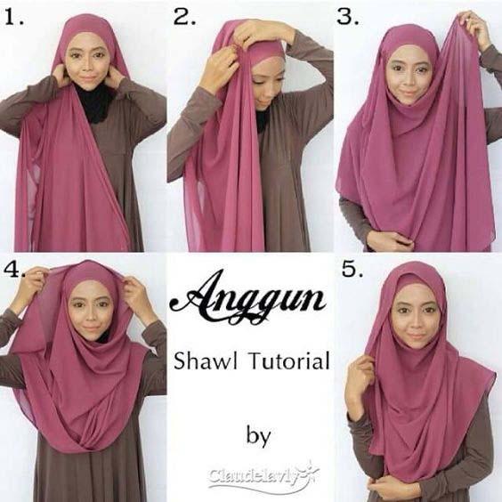Tutoriels Hijab11