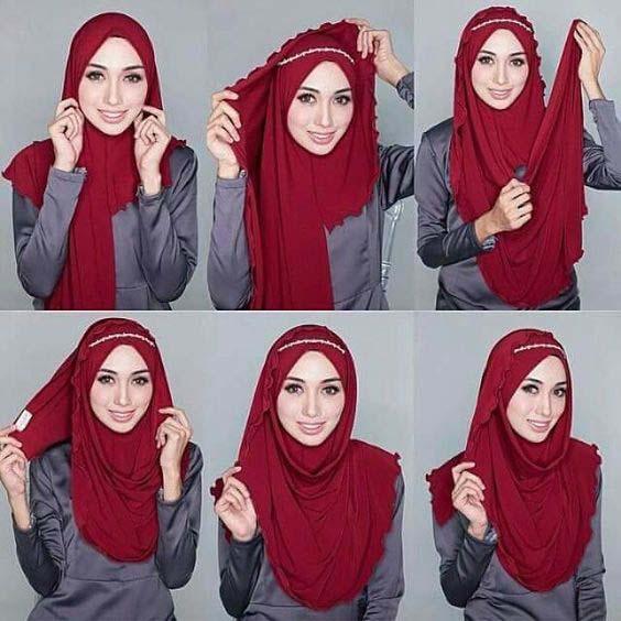 Tutoriels Hijab12