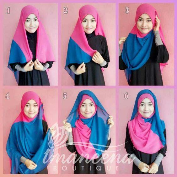 Tutoriels Hijab14