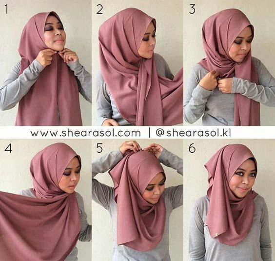 Tutoriels Hijab4