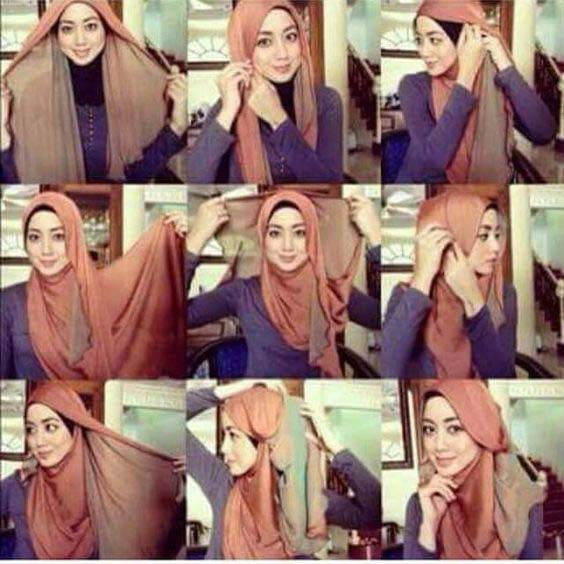 Tutoriels Hijab8