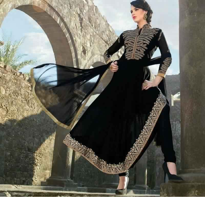 Abaya Soirée Noire11