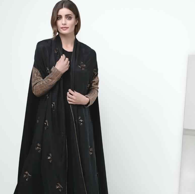 Abaya Soirée Noire3