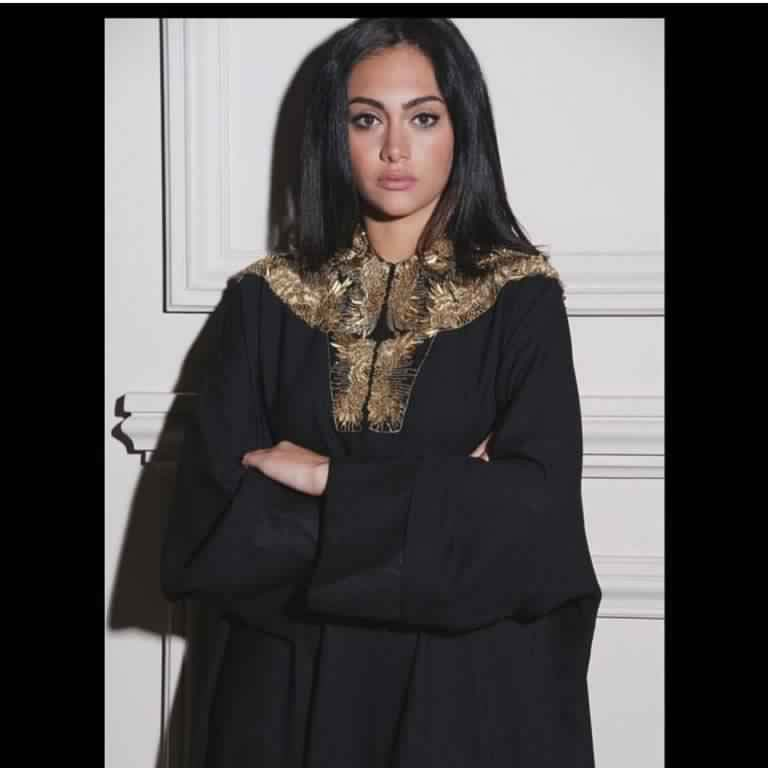Abaya Soirée Noire4