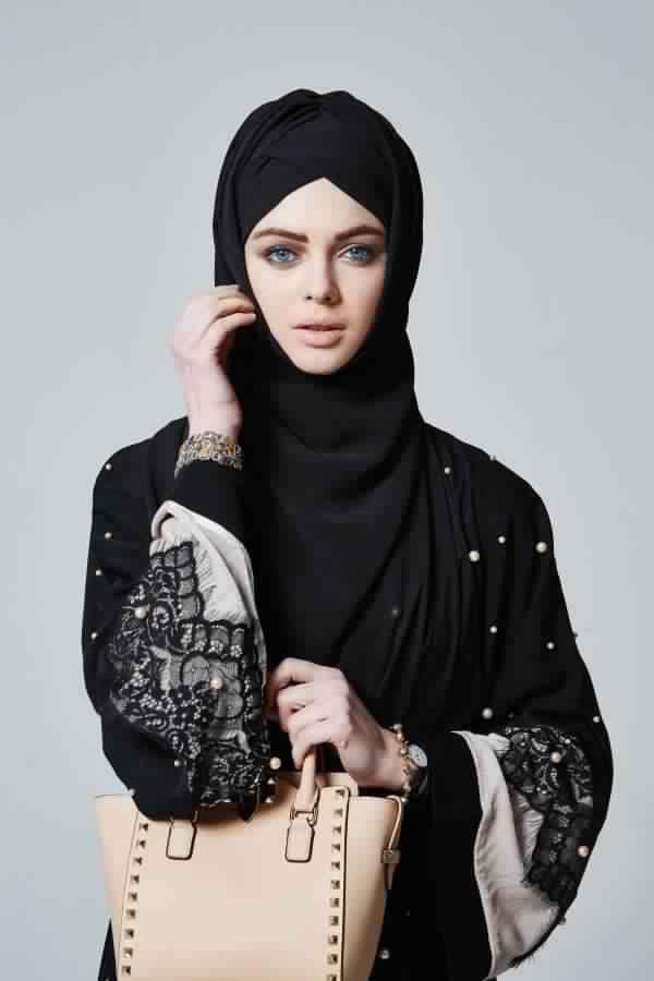 Abaya Très Moderne Et Pratique Pa Cher1
