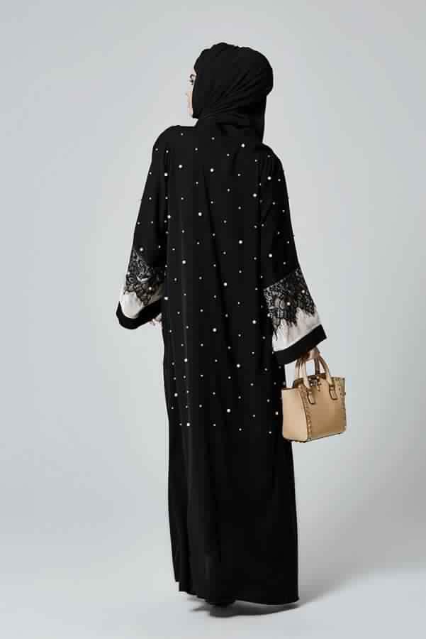 Abaya Très Moderne Et Pratique Pa Cher2
