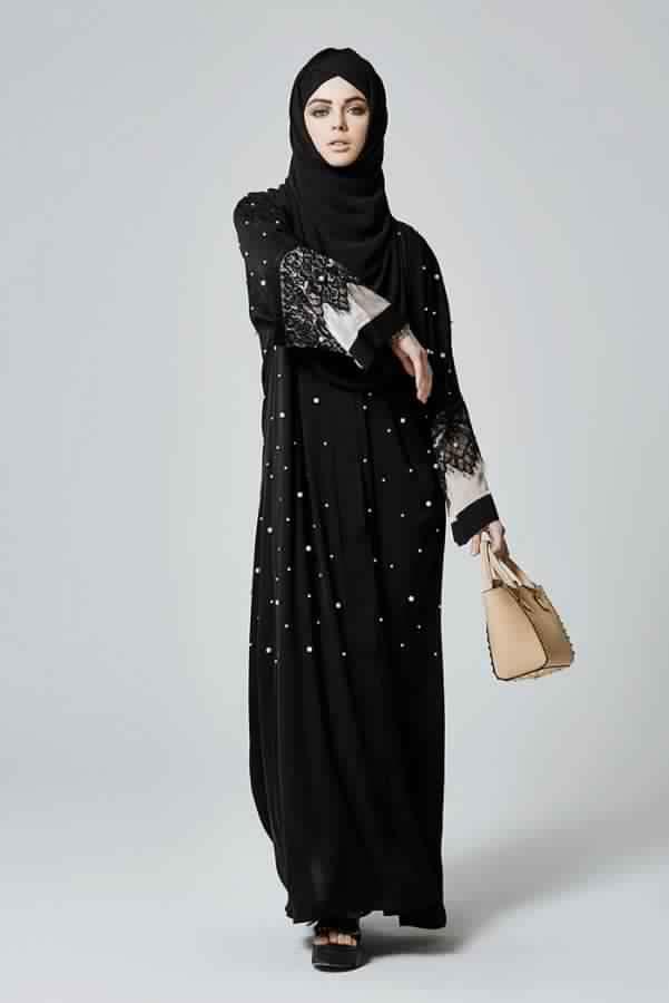 Abaya Très Moderne Et Pratique Pa Cher3