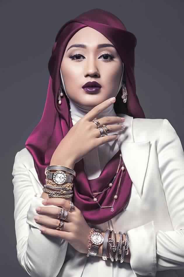 Boucles D'Oreilles En Fonction De Son Hijab 7